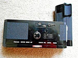 Canon Motor Drive MF Grip for Canon F1 Camera