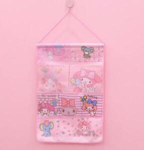 my melody pink Hanging Organizers Wall Storage Bag Pocket gift model gift