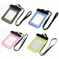 """Transparent Water Resistant Case Bag Protector Pouch Holder for 4"""" Mobile Phone"""