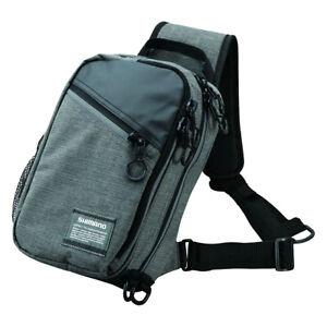 Shimano Sling Shoulder Bag Melange 2 Größen S M Umhängetaschen Melange NEW OVP