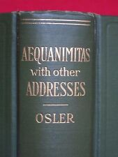1932 ~ Aequanimitas ~ With Other Addresses