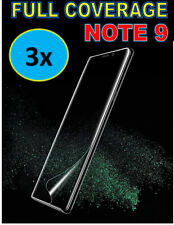 3x FULL COVERAGE 3D CURVED HD SCREEN PROTECTOR COVER FOR SAMSUNG GALAXY NOTE 9