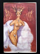 OKLEY : Meneuse de Revue /7 : AFFICHE ORIGINALE 80 x 120cm / P.Gillardeau