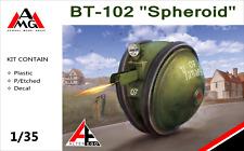 1/35 BT-102 Spheroid- Soviet WWII road tank (plastic + PE) - NEW AMG !