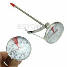 Stainless Steel 100°C Cooking Oven BBQ Milk Food Meat Probe Thermometer Gauge