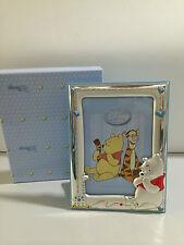 Cornice portafoto Winnie the Pooh in argento DISNEY WP1091/2C regalo per nascita
