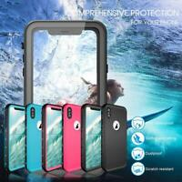 For iPhone X XR XS MAX Redpepper Waterproof Case Cover Support Wireless Charger