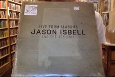 Jason Isbell and the 400 Unit Live from Alabama 2xLP sealed vinyl + download