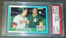 1987 FLEER GLOSSY JOSE CANSECO ROOKIE #628 PSA 10  POP 7