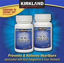 Kirkland Ranitidine  150 mg 190 ct acid relief generic 2 x 95 ct