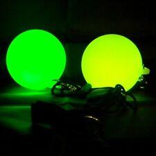 LED Strobe Glow Poi - Strobes RBG Poi - Light Spinning - Glow Flow
