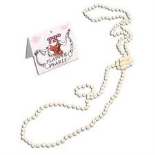 "Nouveau 72 ""Années 1920 Charleston great gatsby tambour collier perles fantaisie robe P909"