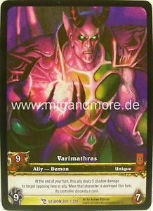 WoW - 1x Varimathras Extended Art - Archives - Foil