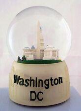 WASHINGTON  D.C.  MUSICAL WATER GLOBE SNOW GLOBE  PLAYS AMERICA THE BEAUTIFUL