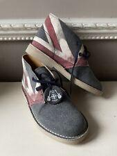 Clarks Original Desert Boot Shoes Union Jack Size 13 Boys Excellent Condition