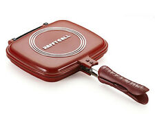 Happycall Double Sided Standard Red Pan for Cooking Made in Korea New