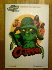 Octaman poster numbered art print #52/500 movie w/ protector Rifftrax Live 19x13