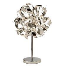 Curls 4 Lights Chrome Modern Curls Design Desk Bedside Table Lamp Office Light