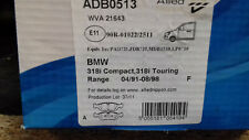 BMW 318i Compact Touring  91-98 Front Brake Pads Allied Nippon New