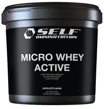 Self Micro Whey Active 2 Kg Proteine del siero Latte Isolate VB 104 caffe latte