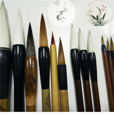 12 PCs Art Tool Calligraphy Pen Chinese Painting Set Writing Brush Brushwork