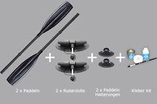 Zubehör NEU 2x Ruderdolle Rudergabel Paddelhalterung Edelstahl 40-45mm Ruder- & Paddelboote