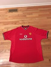 Manchester United Umbro Men's Soccer Jersey Size XXL