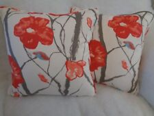 "CELANDINE BY SCION 1 PAIR OF 18"" CUSHION COVERS - PIPED AND DOUBLE SIDED"