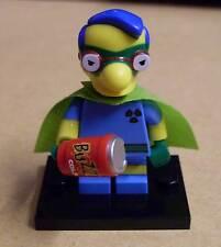LEGO la figura SIMPSONS-Milhouse Fallout Boy (van Houten Supereroe Mantello) NUOVO