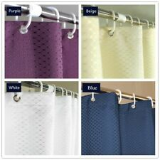 Polyester Fabric Shower Curtain Waterproof Bathroom Shower Curtain Partitions