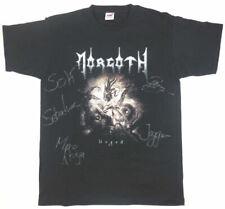 Morgoth Ungod Dawn of the Antichrist Fan T-Shirt Handsigniert Größe M