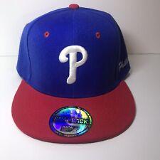 Philadelphia Phillies Blue and Red Adjustable Snapback Hat
