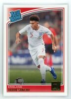 2018-19 JADON SANCHO PANINI DONRUSS RATED ROOKIE RC#189