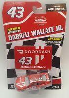 Nascar Authentics DARRELL WALLACE #43 2020 Wave 9 DOORDASH BUBBA CAR