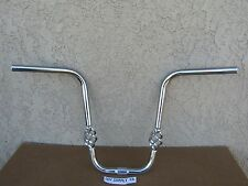 NEW BICYCLE 15'' CHROME HANDLEBAR W/ BIRD CAGE FOR  LOW RIDER, CRUISER