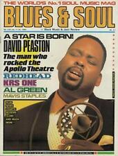 David Peaston Redhead KRS One Al Green Mavis Staples Magazine