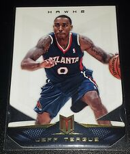Jeff Teague 2012-13 Panini Momentum FORCE DIE-CUT Parallel Insert Card (# 15/25)