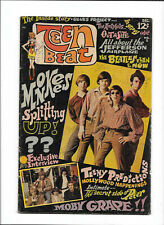 TEEN BEAT #1 [1967 GD] MONKEES PHOTO COVER!