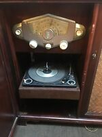 Zenith HFX1283E Radio Phonograph/record Player Cabinet 1956