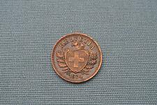 SWITZERLAND  2 RAPPEN 1934  BERNE  RARE