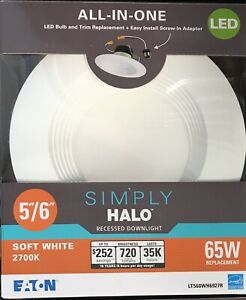 """5""""/6"""" Simply Halo Recessed Downlight - FREE SHIPPING"""