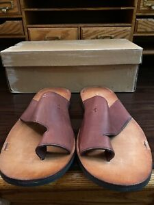 Timberland Leather Sandals US 10 flip flop summer shoes brand new in box