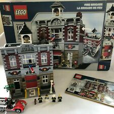 LEGO CREATOR - FIRE BRIGADE- 10197 -MODULAR BUILDING - RARE -100% COMPLETE BOXED