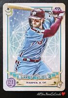 Bryce Harper 2020 Topps Gypsy Queen Tarot Of The Diamond Insert Card#17 Phillies