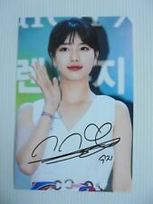 Suzy Bae Miss A 4x6 Photo Korean Actress KPOP autograph signed USA Seller A10