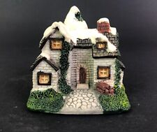 The Cornwall Cottage Collection Winter Cottage 1991 #Bh06 Porcelain