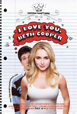 I LOVE YOU BETH COOPER MOVIE POSTER 2 Sided ORIGINAL 27x40 HAYDEN PANETTIERE