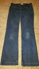 Women's Gap Brand Long & Lean Dark Wash Dark Wash Blue Jeans Size 4/27r