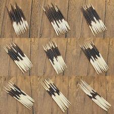 10 Pcs Varisized Porcupine Quills Fish Float Hair Stick Art Diy Craft Supplies