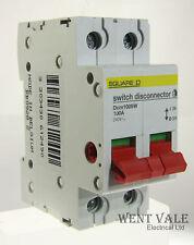Square D Domae-dom100sw - 100a Doble Polo interruptor disconnector Usado
